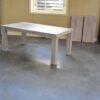 eiken tafel uitschuifbaar, uitschuifbare eiken tafel, uitschuiftafel, uitschuif tafel eiken, eikenhouten tafel, eiken tafel whitewash, tafel van eikenhout, tafel op maat, tafel zelf samenstellen