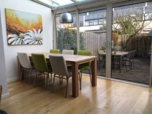 uitschuifbare houten tafel STRETCH