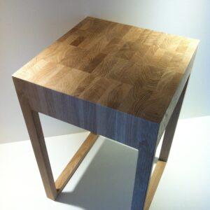 houten bijzet tafel Oak