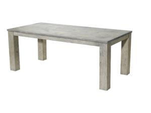 uitschuiftafel van hout JBF schuif