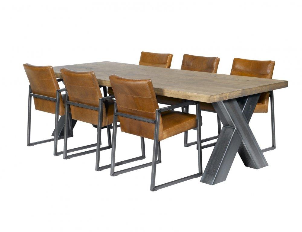 Design Tafel Stoelen.Model Cross De Houten Tafel Nl