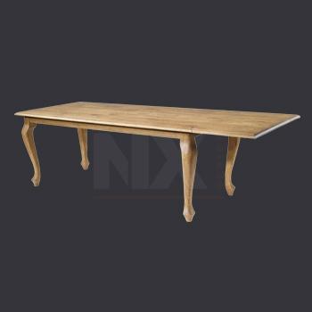 verlengbare houten tafel