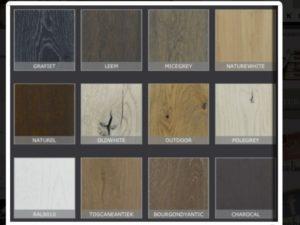 kleurstalen NIX Design bij De-Houten-Tafel
