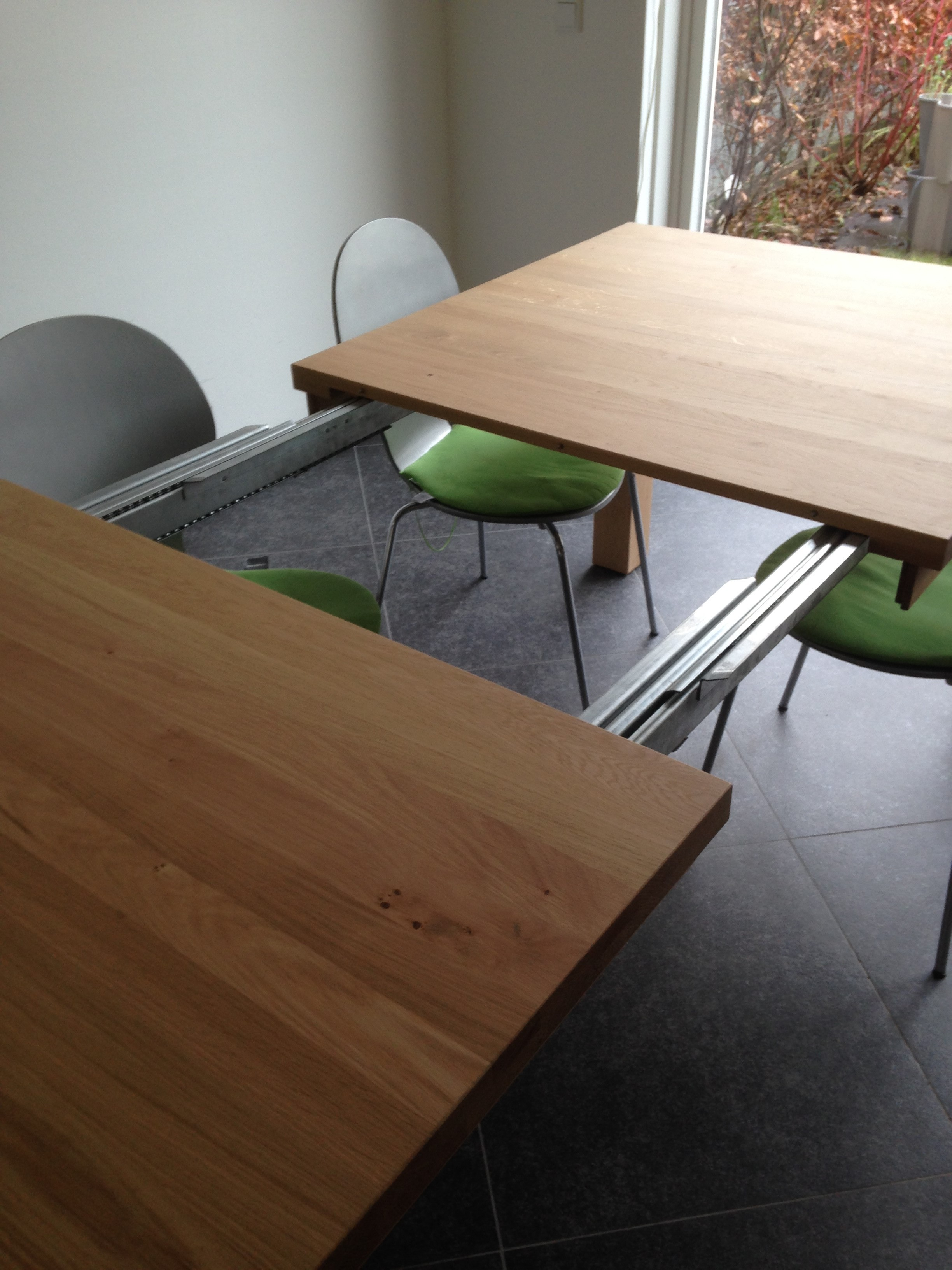 Hardhouten Uitschuifbare Eettafel.Hardhouten Tuintafel Uitschuifbaar